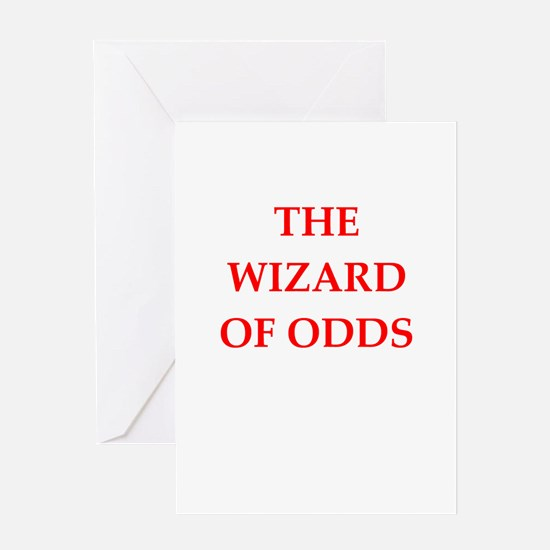 odds Greeting Cards