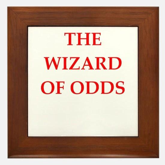 odds Framed Tile