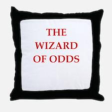 odds Throw Pillow
