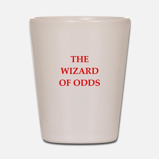 odds Shot Glass