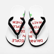STONED Flip Flops