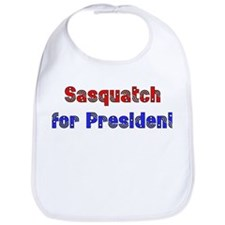 Sasquatch For President Bib