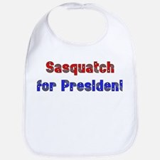 Sasquatch For President Bib