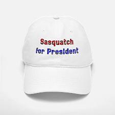 Sasquatch For President Baseball Baseball Cap