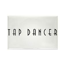 Tap Dancer Rectangle Magnet (100 pack)