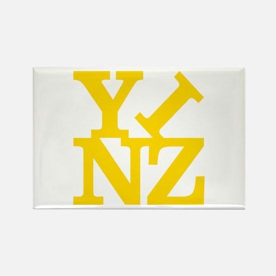 YINZ Rectangle Magnet
