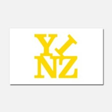 YINZ Car Magnet 20 x 12
