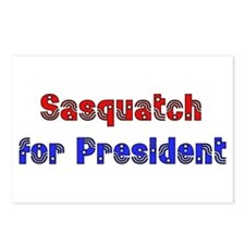 Sasquatch For President Postcards (Package of 8)