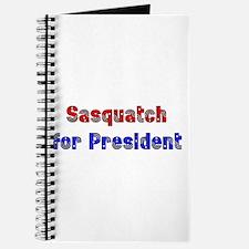 Sasquatch For President Journal