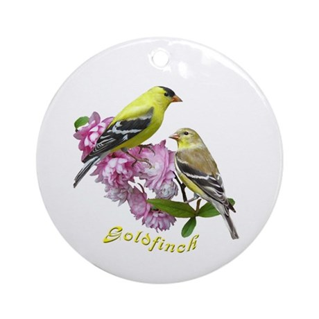 Goldfinch Ornament (Round)