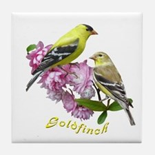 Goldfinch Tile Coaster