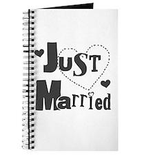 Just Married Black Journal