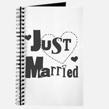 Just Married Black Journal