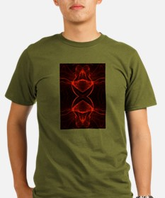 The Red King - fractalized fantasy T-Shirt