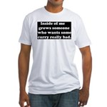 Curry Craving Fitted T-Shirt