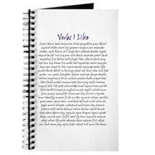 Verbs I Like Journal