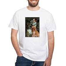 Ophelia & Golden Retriever Shirt