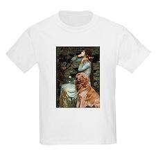 Ophelia & Golden Retriever T-Shirt