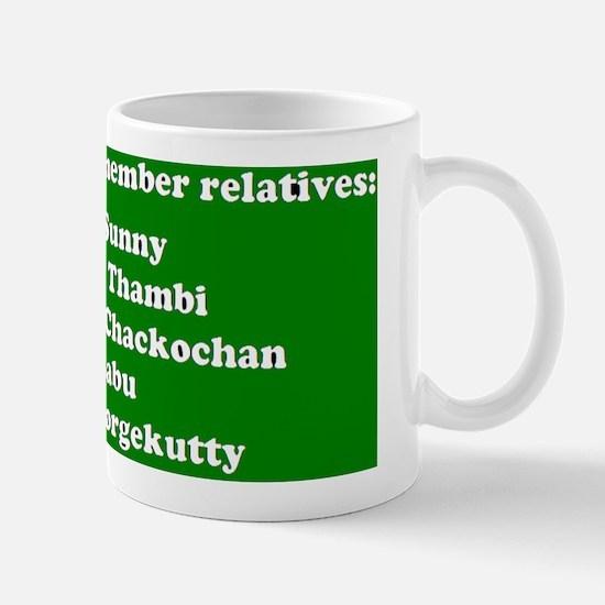 Uncle Aunty WHo?? Mug