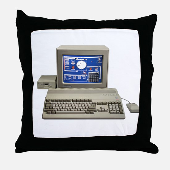 AMIGA Computer Throw Pillow