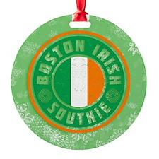 Boston Irish Southie Ornament