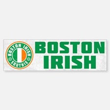 Boston Irish Southie Bumper Bumper Bumper Sticker