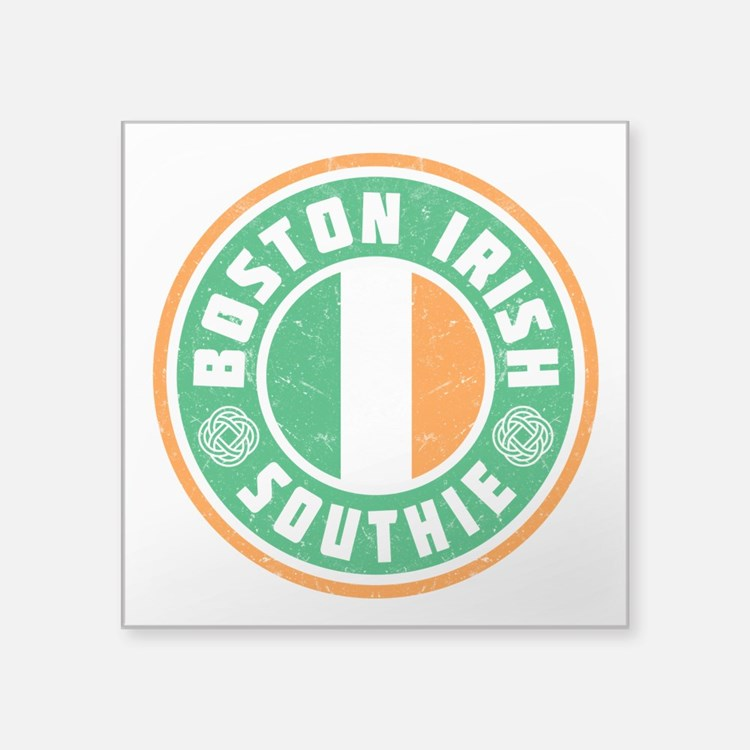 Boston Irish Southie Sticker