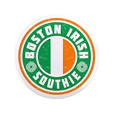 """Boston Irish Southie 3.5"""" Button"""