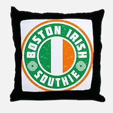 Boston Irish Southie Throw Pillow