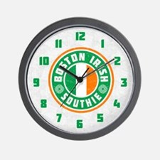 Boston Irish Southie Wall Clock