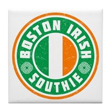 Boston Irish Southie Tile Coaster