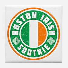 Boston Irish Southie Tile Coaster