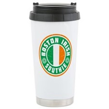 Boston Irish Southie Travel Mug
