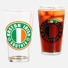 Boston Irish Southie Drinking Glass