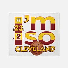I'm So Cleveland (Cav Wine & Gold Edition) Throw B