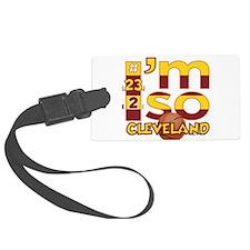 I'm So Cleveland (Cav Wine & Gold Edition) Luggage