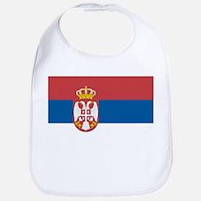 Serbian flag Bib