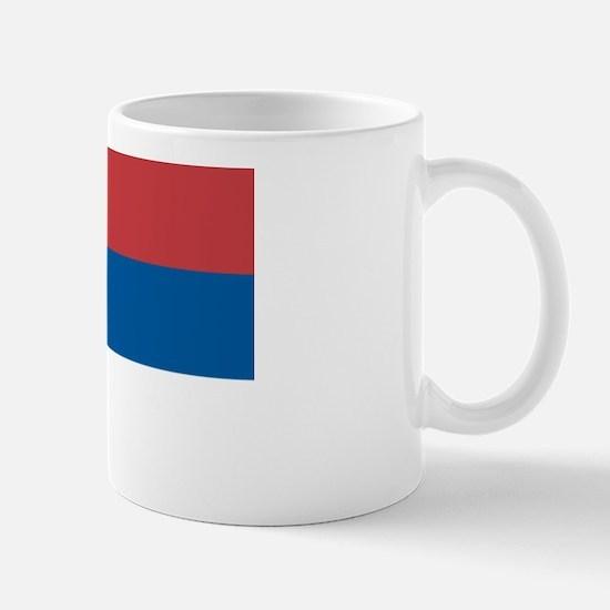Serbian flag Mug