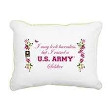 I Raised A Soldier Rectangular Canvas Pillow