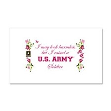 I Raised A Soldier Car Magnet 20 x 12