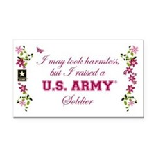 I Raised A Soldier Rectangle Car Magnet