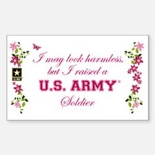 I Raised A Soldier Sticker (Rectangle)