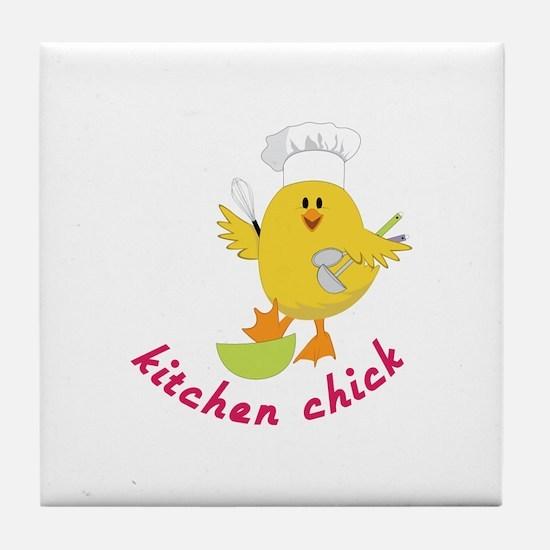 Kitchen Chick Tile Coaster