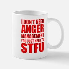 Anger Management STFU Mugs
