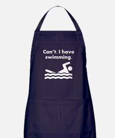 Cant I Have Swimming Apron (dark)