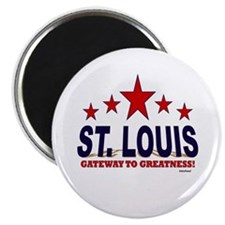 St. Louis Gateway To Greatness Magnet