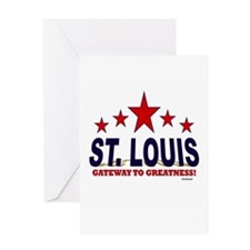 St. Louis Gateway To Greatness Greeting Card