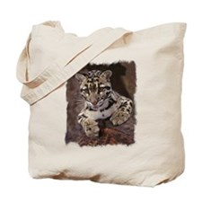 BABY CLOUDED LEOPARD Tote Bag