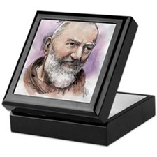 Padre Pio Keepsake Box