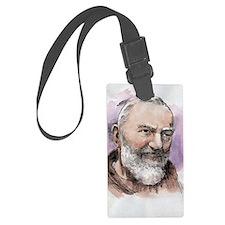 Padre Pio Luggage Tag